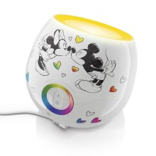 Philips Massive 71703/55/16 - Lampka stołowa dziecięca LIVINGCOLORS MINI MICKEY & MINNIE MOUSE LED/7,5W/230V