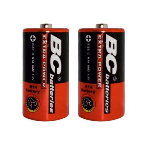 2 szt. Baterie cynkowo-chlorowa EXTRA POWER C 1,5V