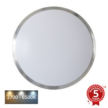 APLED - LED Plafon z czujnikiem LENS PP TRICOLOR LED/18W/230V IP44 1210lm