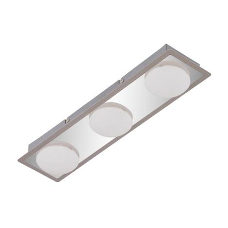 Briloner 2091-038 - LED Plafon łazienkowy SURFLINE 3xLED/4,5W/230V IP44