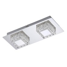 Briloner 3549-028 - LED Plafon NOBLE 2xLED/5W/230V