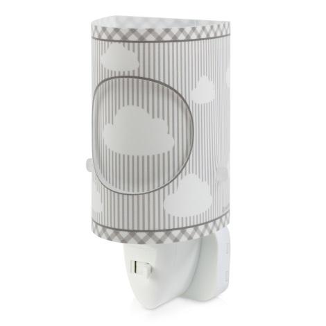 Dalber D-62015E - LED Lampka nocna SWEET DREAM 1xLED/0,3W/230V