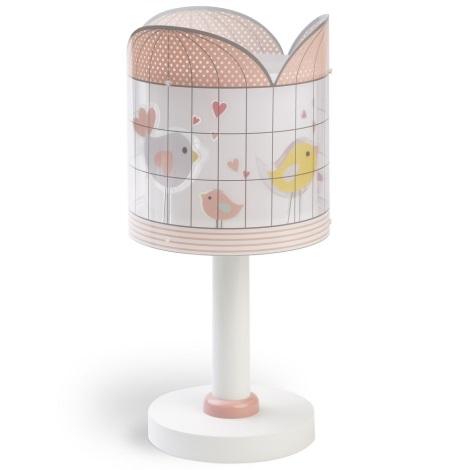 Dalber D-71281 - Lampka dziecięca LITTLE BIRDS 1xE14/40W/230V