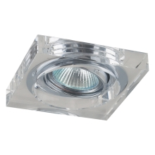 Downlight Family 1xGU10/50W Chrom/kryształ