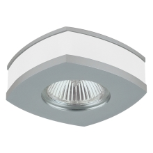 Downlight Family 1xGU10/50W kryształ/ aluminium