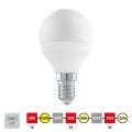 EGLO 11583 - LED Żarówka cyklicznie ściemnialna E14/6W/230V - STEPDIMMING ciepła biała