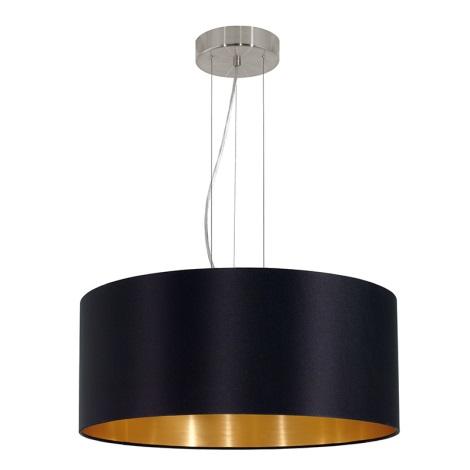 Eglo 31605 - Lampa wisząca MASERLO 3xE27/60W/230V