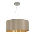Eglo 31607 - Lampa wisząca MASERLO 3xE27/60W/230V