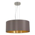 Eglo 31608 - Lampa wisząca MASERLO 3xE27/60W/230V