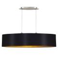 Eglo 31616 - Lampa wisząca MASERLO 2xE27/60W/230V