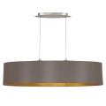 Eglo 31619 - Lampa wisząca MASERLO 2xE27/60W/230V