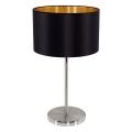 Eglo 31627 - Lampa stołowa  MASERLO 1xE27/60W/230V
