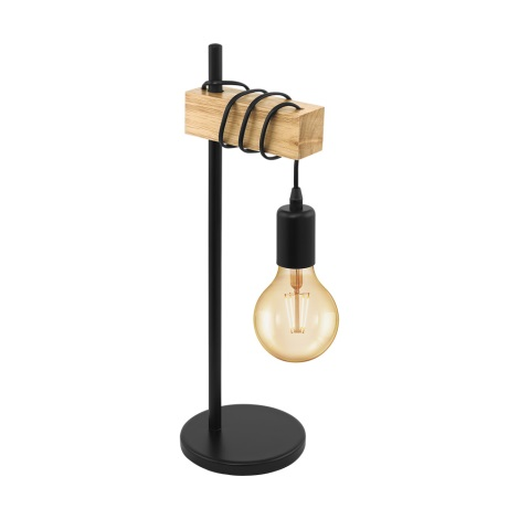 Eglo 32918 - Lampa stołowa TOWNSHEND 1xE27/10W/230V