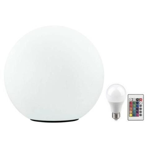 Eglo 32998 - LED RGB Zewnętrzna lampa stojąca MONTEROLO 1xE27/9W/230V IP65 ø390