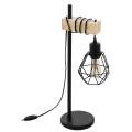 Eglo 43136 - Lampa stołowa TOWNSHEND 1xE27/60W/230V