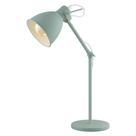 EGLO 49097 - Lampa stołowa PRIDDY-P 1xE27/40W/230V