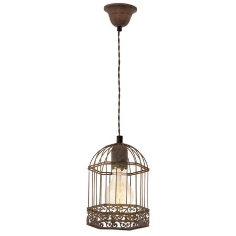 Eglo 49217 - Lampa wisząca VINTAGE 1xE27/60W/230V