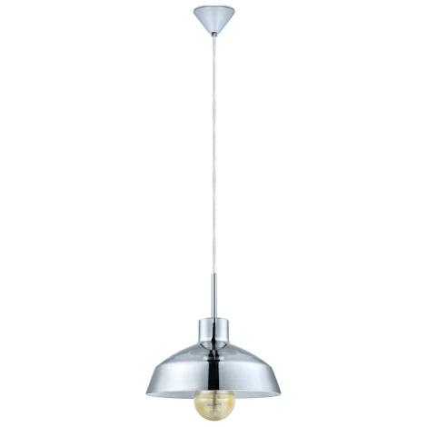 Eglo 49264 - Lampa wisząca BRIXHAM 1xE27/60W/230V
