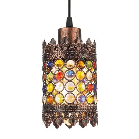 Eglo 49766 - Lampa wisząca JADIDA 1xE27/60W