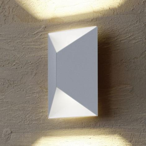 Eglo 54603 - LED Kinkiet zewnętrzny PREDAZZO 2xLED/2,5W/230V IP44