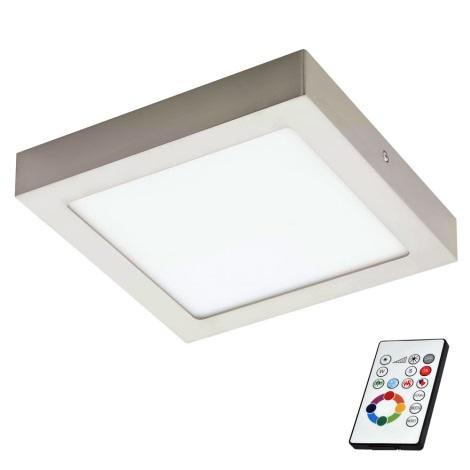 Eglo 78768 - LED RGB Plafon ściemnialny TINUS 1xLED/6W/230V