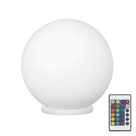 Eglo 79042 - LED RGB Ściemnialna lampa stołowa RONDO C 1xE27/7,5W/230V