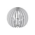 Eglo 79112 - Lampa stołowa COSSANO 1xE27/60W/230V biała