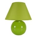 Eglo 80719 - Lampa stołowa TINA 1xE14/40W/230V zielona