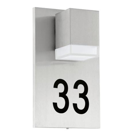 Eglo 93369 - LED lampa  zewnętrzna  PARDELA 1xLED/2,5W/230V