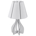 Eglo 94947 - Lampa stołowa COSSANO 1xE27/60W/230V