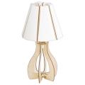 Eglo 94951 - Lampa stołowa COSSANO 1xE27/60W/230V
