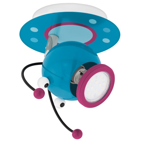 Eglo 95941 - Lampa dziecięca LAIA 1 1xGU10-LED/3W/230V