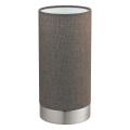 Eglo 96387 - Lampa ściemnialna stołowa PASTERI 1xE27/40W/230V brązowy