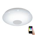 Eglo 96684 - LED Ściemnialne oświetlenie ścienno-sufitowe VOLTAGO-C LED/17W/230V