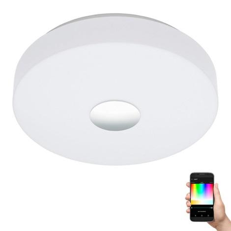 Eglo 96819 - LED Ściemnialne oświetlenie ścienno-sufitowe BERAMO-C LED/17W/230V