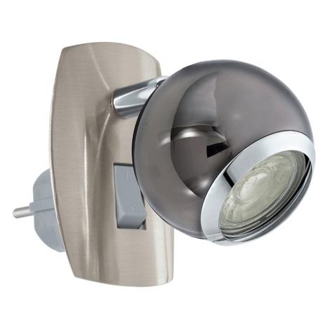 Eglo 96841 - LED Kinkiet do gniazda BIMEDA 1xGU10/3,3W/230V szary