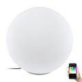 Eglo 98107 - LED RGB Zewnętrzna lampa podłogowa MONTEROLO-C 1xLED/9W/230V IP65 ø500
