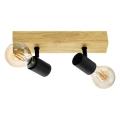 Eglo 98112 - Oświetlenie punktowe TOWNSHEND 2xE27/60W/230V