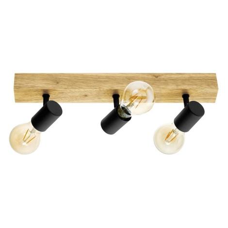 Eglo 98113 - Oświetlenie punktowe TOWNSHEND 3xE27/60W/230V