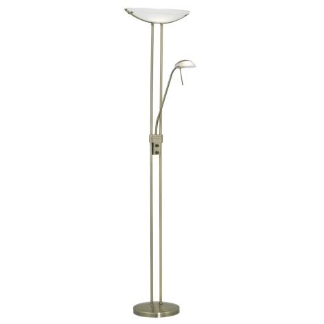 Eglo - Lampa podłogowa brąz