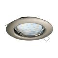 Eglo - LED Oprawa wpuszczana 1xGU10/3W/230V