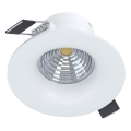 Eglo - LED Oprawa wpuszczana ściemnialna  LED/6W/230V