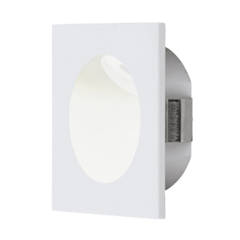 Eglo - LED Oświetlenie klatki schodowej 1xLED/2W/230V bialy