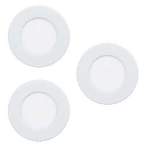 Eglo - ZESTAW 3x LED Oprawa wpuszczana 3xLED/2,7W/230V