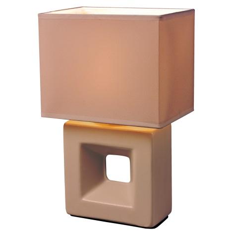 Esto 21102 - Lampa stołowa ERICA 1xE14/25W/230V brzoskwinia