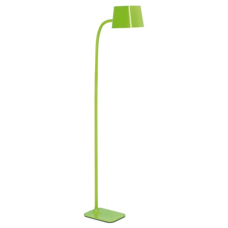 FARO 29927 - LED Lampa podłogowa FLEXI 1xE27/8,5W/230V zielony