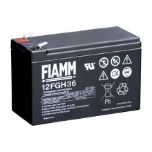Fiamm 12FGH36 - Akumulator ołowiowy 12V/9Ah/faston 6,3mm