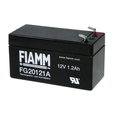 Fiamm FG20121A - Akumulator ołowiowy 12V/1,2Ah/faston 4,7mm
