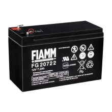 Fiamm FG20722 - Akumulator ołowiowy 12V/7,2Ah/faston 6,3mm