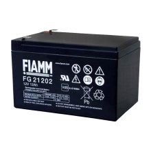 Fiamm FG21202 - Akumulator ołowiowy 12V/12Ah/faston 6,3mm